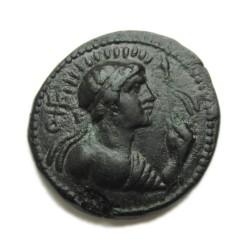 Indo-görög bronz érme - Menander - Baktria