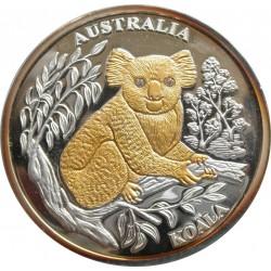 10 dollár - Libéria - Koala, a világ állatai sorozat