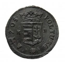II. Rákóczi Ferenc 1705 poltura