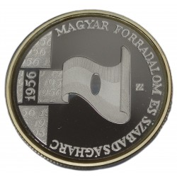 Ezüst 5000 Forint 1956-os Forradalom 2006 50. évfordulójára