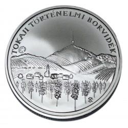 Ezüst 5000 Forint Tokaj Történelmi Borvidék Kultúrtáj