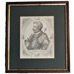 Báthori Zsigmond erdélyi fejedelem rézmetszetű mellképe / 1665 /