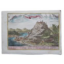 Visegrád látképe 1685