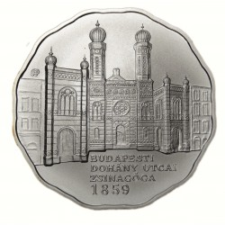 Ezüst 5000 Forint Dohány utcai Zsinagóga