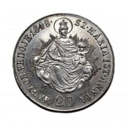 Szabadságharc 20 krajcár 1848 K-B