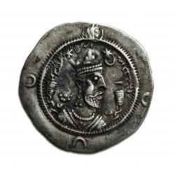 I. Khosrau ( Kr.u. 531-579 )  drachma Kirmán