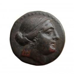 Aeolis-Kyme bronz didrachma