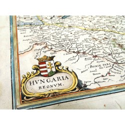 Magyarország térképe 1638, Merian