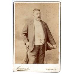 Ujváry Ignác portré fotógráfiája
