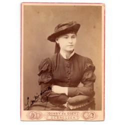 Laczkó Aranka színésznő dedikált portré fotográfiája
