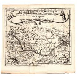 Magyarország térképe 1705, De Fer