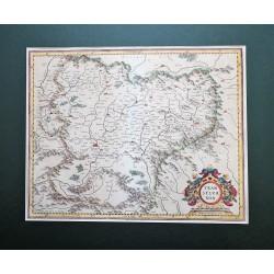 Erdély térképe 1595, Mercator
