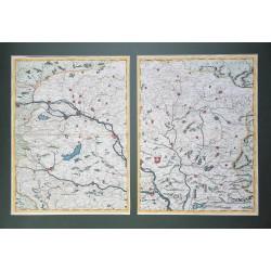 Magyarország térképe 1691 Coronelli