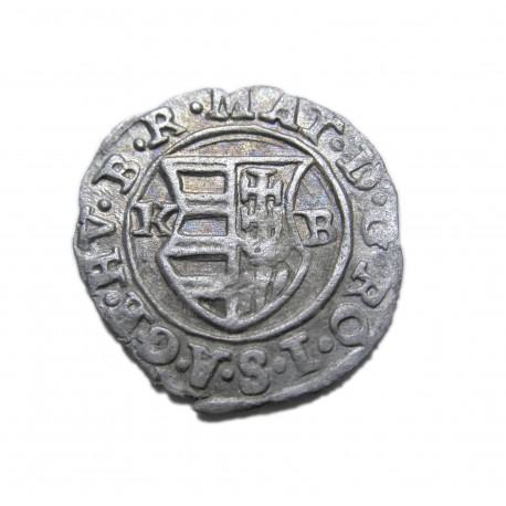 II. Mátyás dénár 1618 K-B ÉH.870