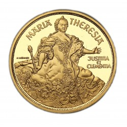 1000 Schilling  Mária Terézia  1/2 Uncia Arany