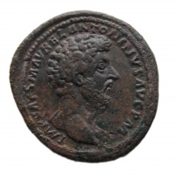 Marcus Aurelius sestercius