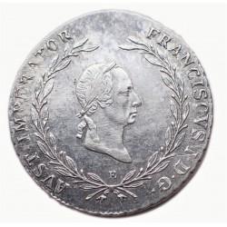 I. Ferenc  20.krajcár 1826