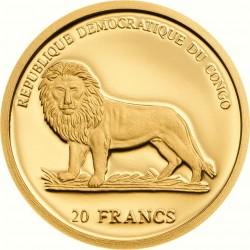 Pangolin 20 Frank  (Au 999)