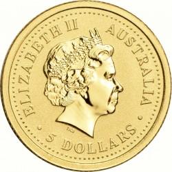II. Erzsébet 5 Dollár  (Au 999) Ausztrália
