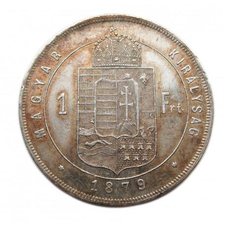 Ferenc József 1 Forint K-B  1879