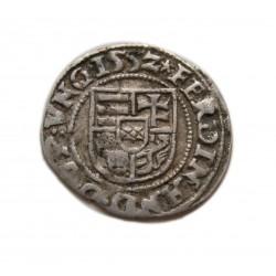 I. Ferdinánd dénár H-P Pozsony 1552
