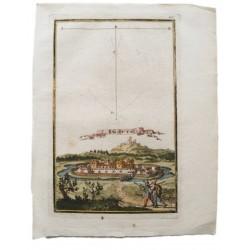 Várpalota  látképe /1689 rézmetszet/