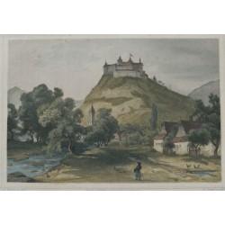 Krasznahorka vára 1860 Rohbock L.