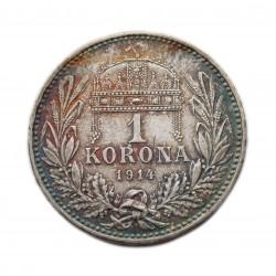 Ferenc József 1 korona K-B  1914