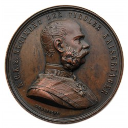 1894 Ferenc József és Erzsébet Medaille