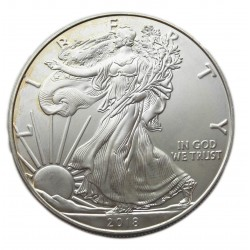 U.S.A. 1 DOLLÁR 1 uncia 2018  (AG 0,999)