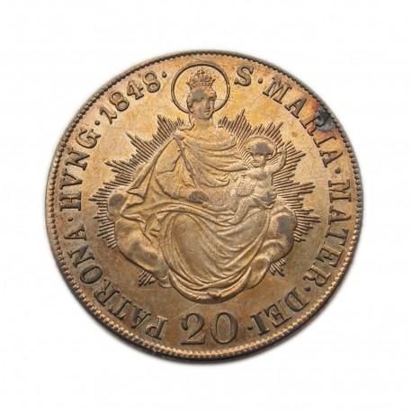 Szabadságharc 20 krajcár 1848 B