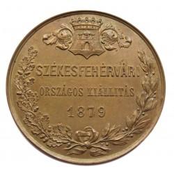 1879,Székesfehérvári országos kiállítási érem