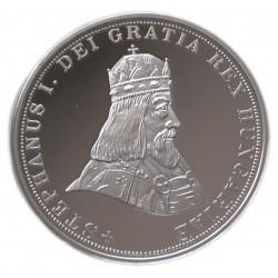 Szent István 5 korona Ag 999/1000 UTÁNVERET