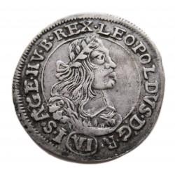 I.Lipót VI. krajcár 1672 K-B