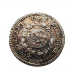 III. Károly koronázási zseton 1712 Pozsony