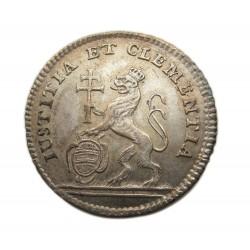 Mária Terézia 1741 Pozsony  ezüst koronázási zseton