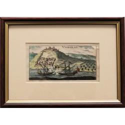 Christoff R.: Visegrád látképe 1688