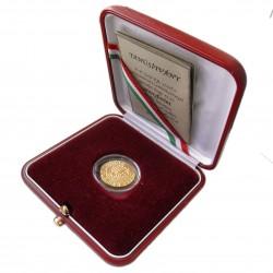 Mátyás aranyforint U.V.  Au 986%