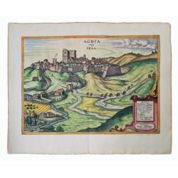 Hogenberg/Houfnagel: Eger várának látképe /1617/