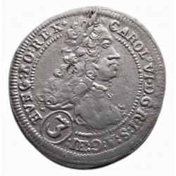 Karl VI. 3kreuzer 1720 Graz