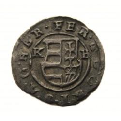 II. Ferdinánd dénár 1634 K-B ÉH.916c