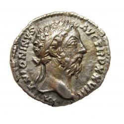 Marcus Aurelius denar Rev:Viktória RIC 273