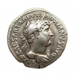 Hadrianus denar Rev: PAX RIC: 95