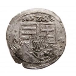II. Lajos dénár (1524) L-K ÉH.675e