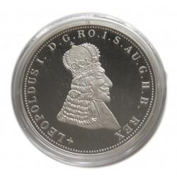 I. Lipót 5 korona Ag 999/1000 UTÁNVERET