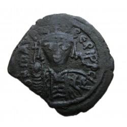 Mauritius Tiberius Follis Nikomedia