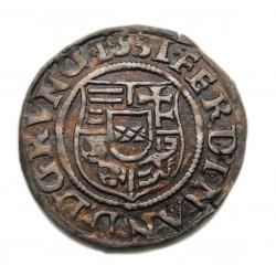 I. Ferdinánd denar 1531 K-B  Éh:745a