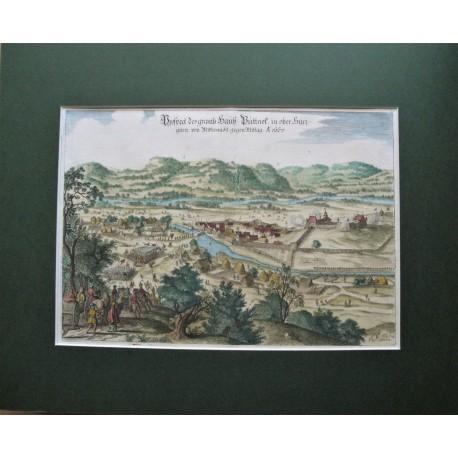 1667 Merian: Putnok látképe