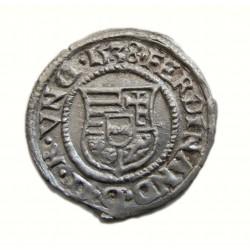 I. Ferdinánd denar 1538 K-B  Éh:745a