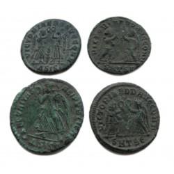 4 db római kisbronz